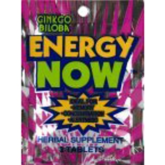 Ginkgo Biloba Energy Now - 24ct