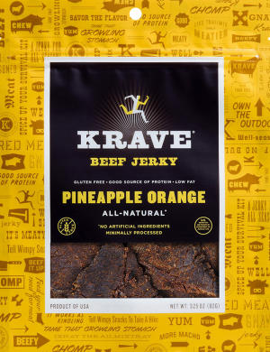 Krave Pineapple Orange Jerky
