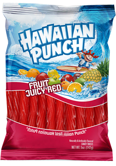 Hawaiian Punch twists - 6ct