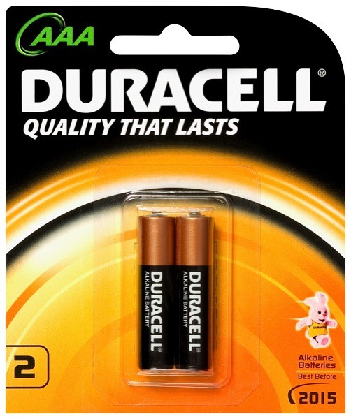 Duracell Batteries AAA 2pk