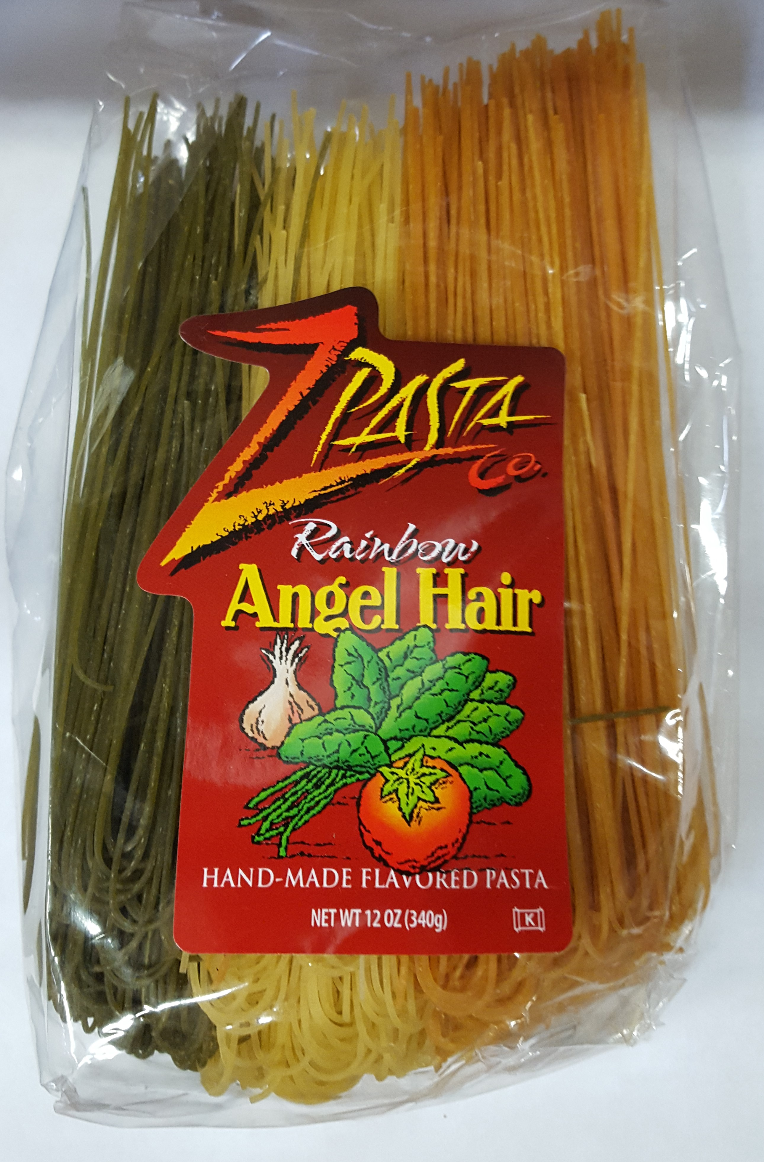 Z Pasta Rainbow Angel Hair