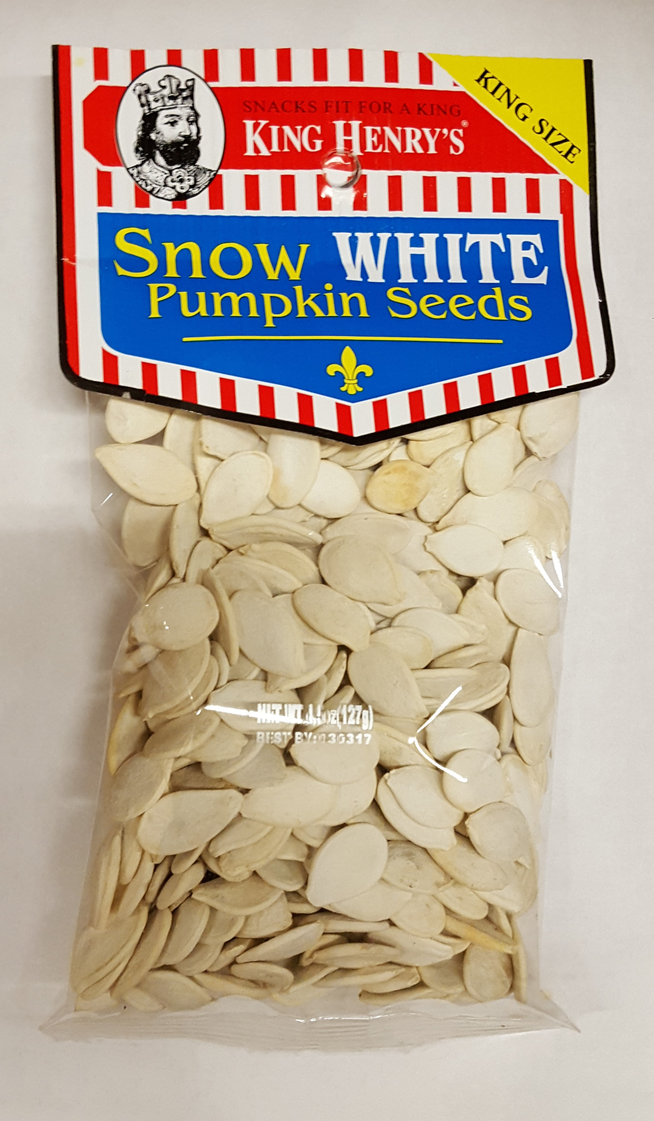 King Henry\'s Snow White Pumpkin Seeds