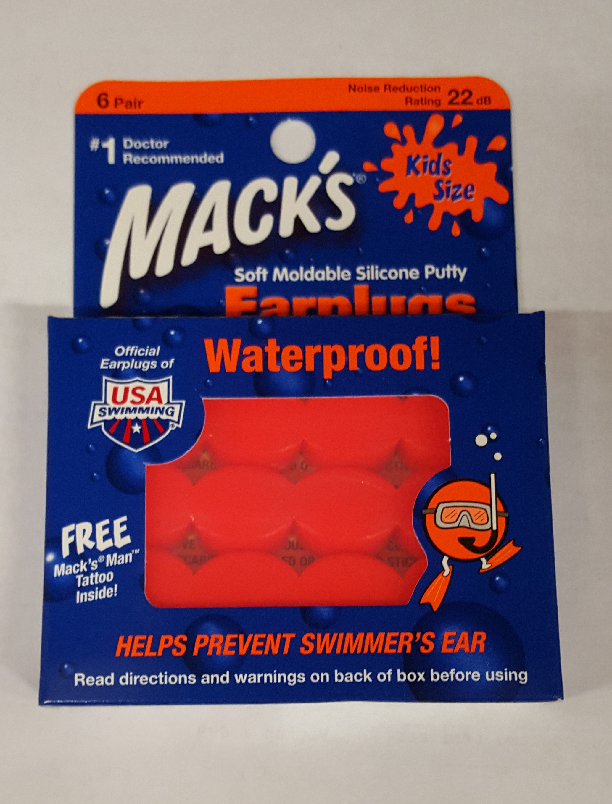 Mack's Kids Earplugs