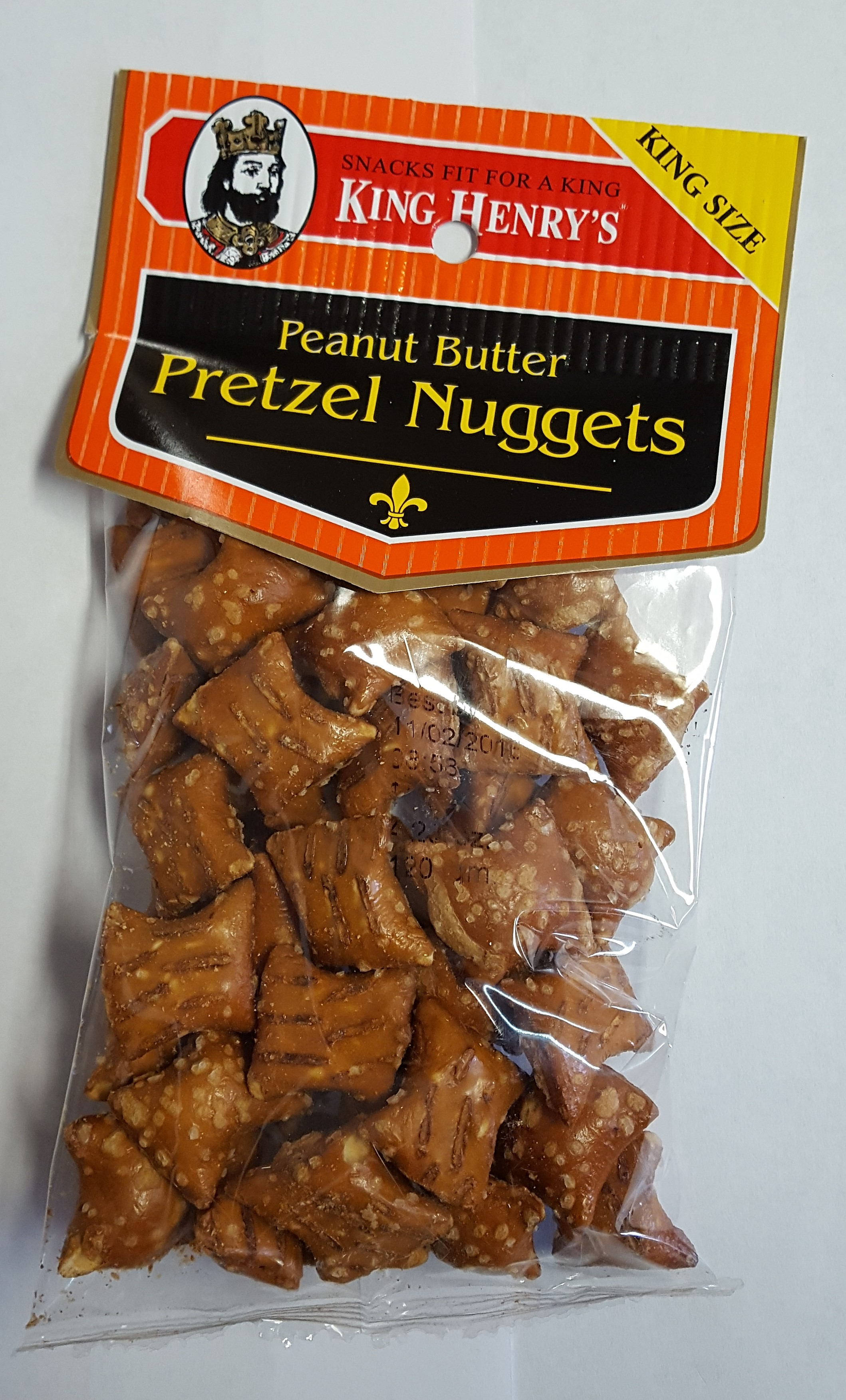 King Henry's Peanut Butter Pretzel Nuggets
