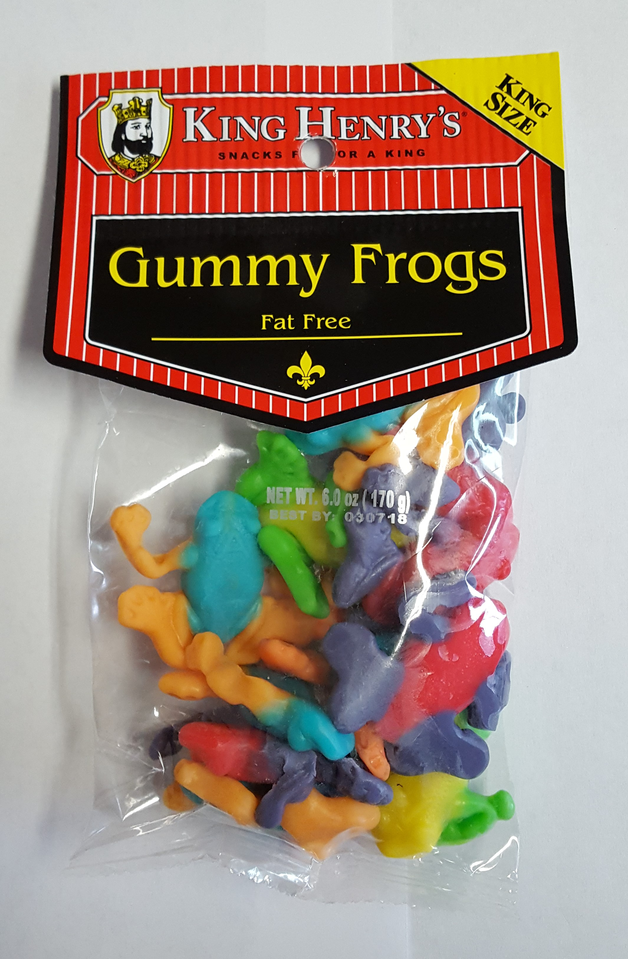 King Henry's Gummy Frogs