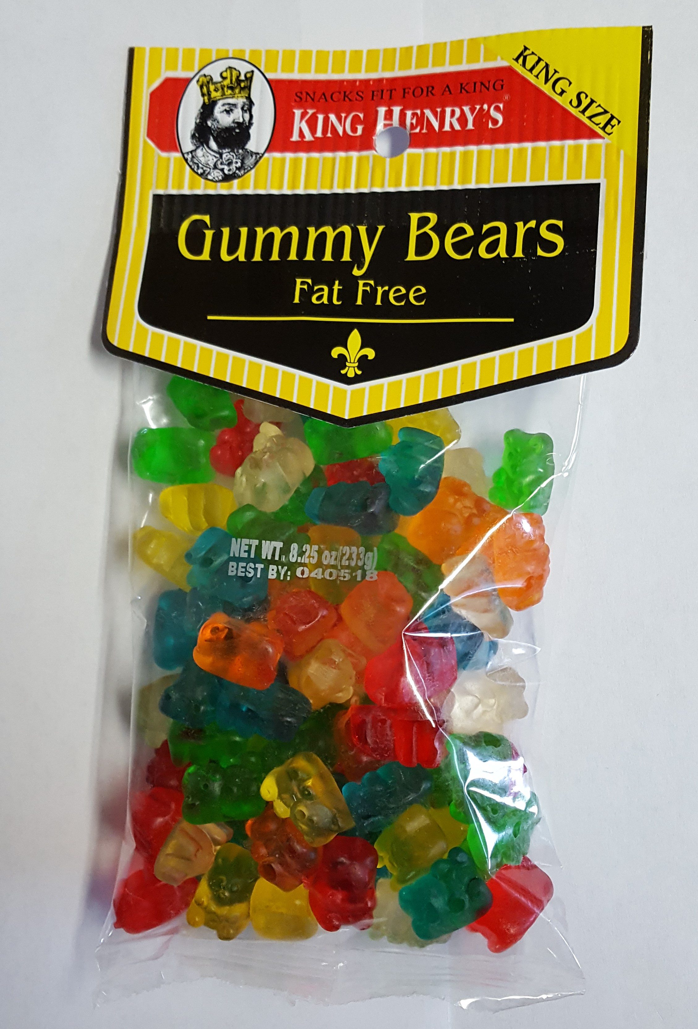 King Henry's Gummy Bears