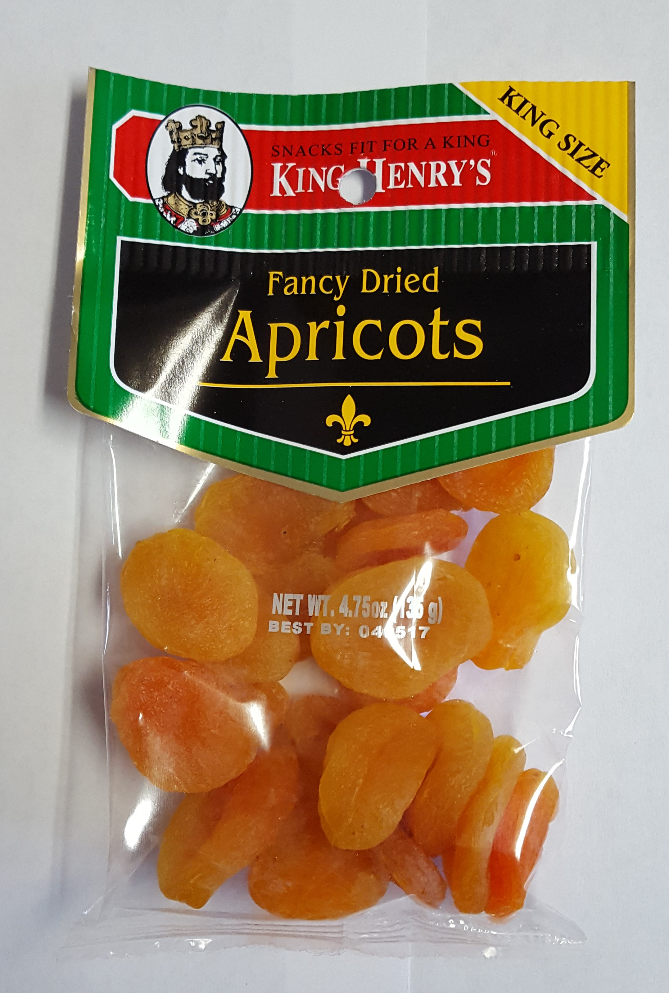 King Henry's Dried Apricots