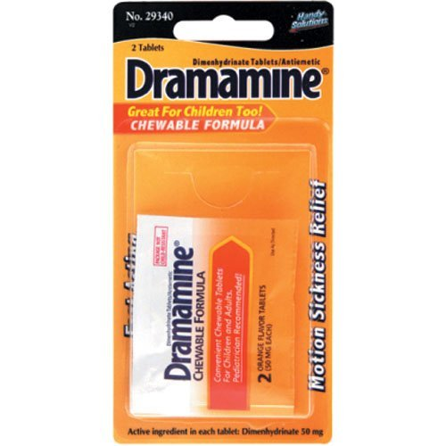 Dramamine 2ct pack of 6
