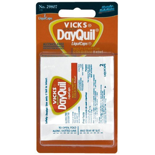 Dayquil Liquicaps 2ct pack of 6
