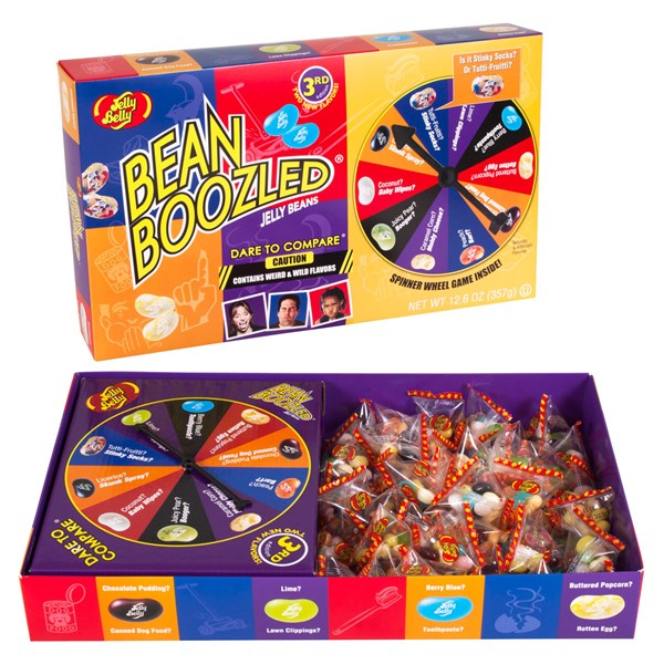Bean Boozeled Spinner Game
