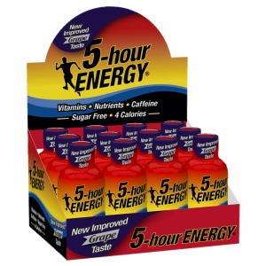 5-Hour Energy Pink Lemonade - 12ct