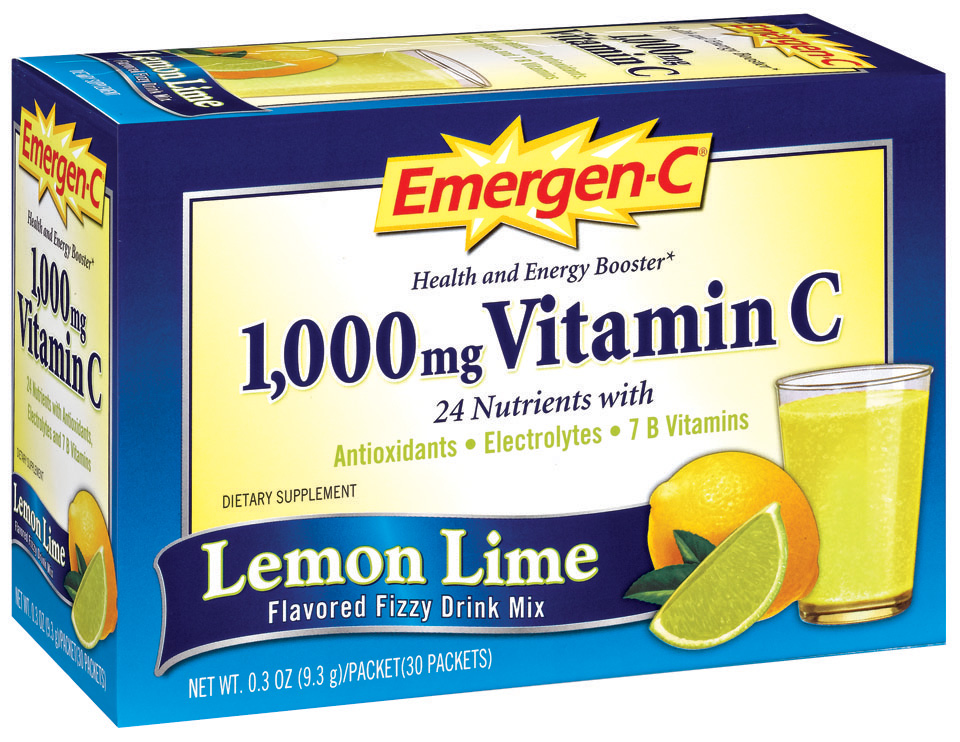 Emergen-C Lemon Lime