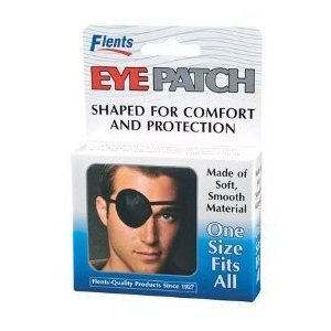 Black Eye Patch - 6ct