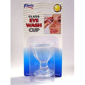 Glass Eye Wash Cup - 6ct