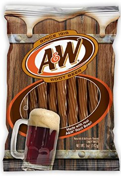 A&W Licorice Twists - 6ct