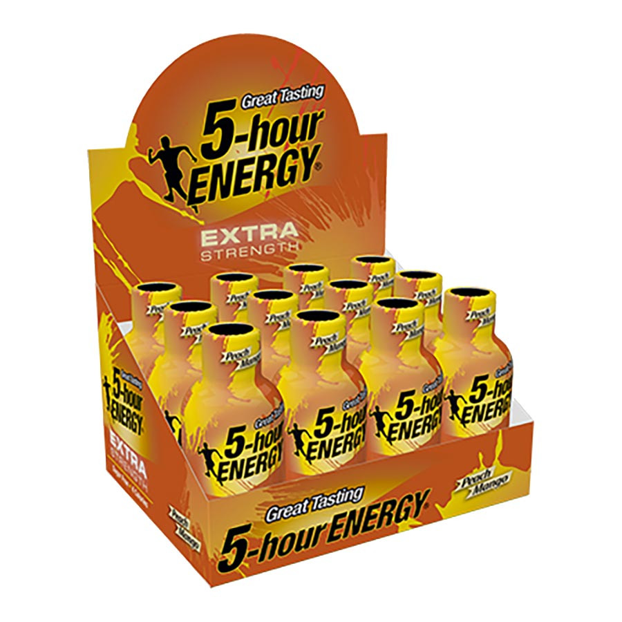 5-Hour Energy Extra Strength Peach Mango - 12ct