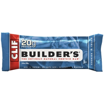 Clif Builder's Cookies 'N Cream Bar - 12ct
