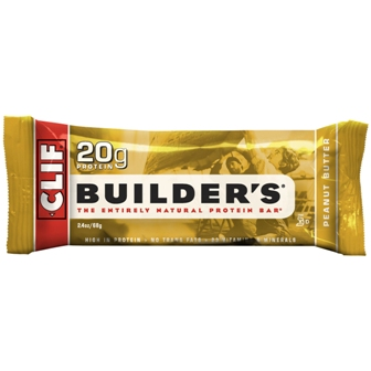 Clif Builder's Peanut Butter Bar - 12ct
