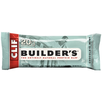 Clif Builder's Chocolate Mint Bar - 12ct