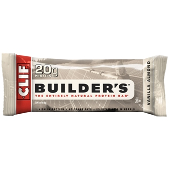 Clif Builder's Vanilla Almond Bar - 12ct