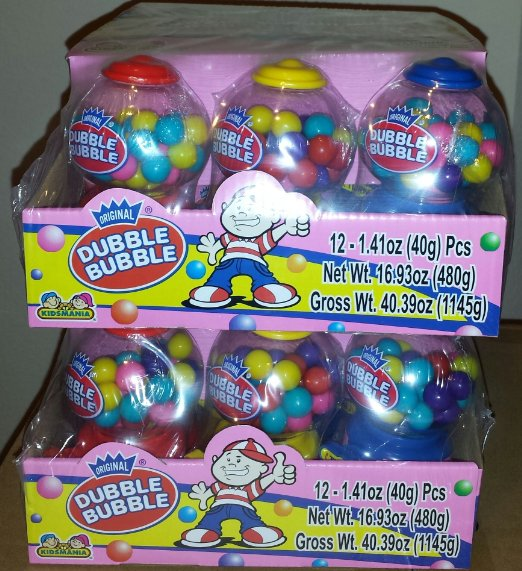 Dubble Bubble Gum - 12ct