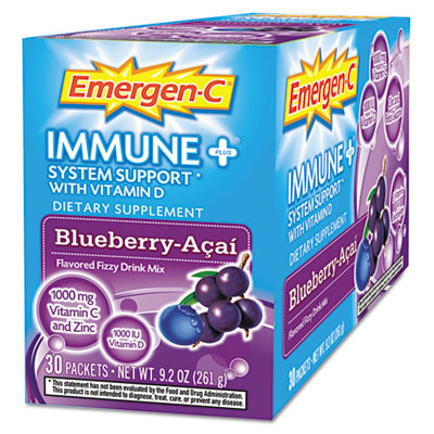 Emergen-C Immune Plus Blueberry-Acai