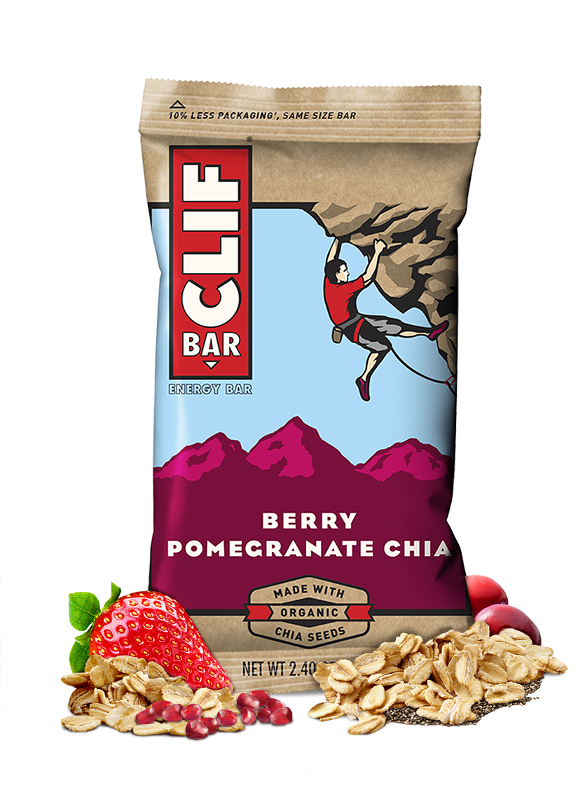 Clif Berry Pomegranate Chia - 12ct