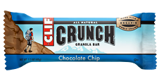 Clif Bar Crunch Chocolate Chip - 10ct