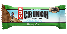 Clif Bar Crunch Honey Oat - 10ct