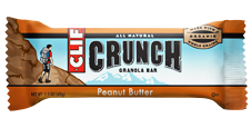 Clif Bar Crunch Peanut Butter - 10ct