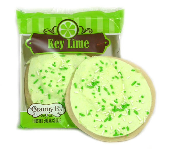 Granny B\'s Key Lime Sugar Cookie - 10ct