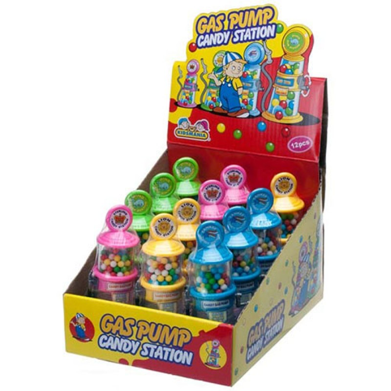 Gas Pump Candy Station - 12ct