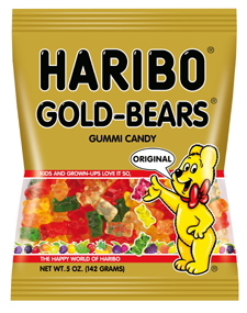 Haribo Gold Bears 5oz