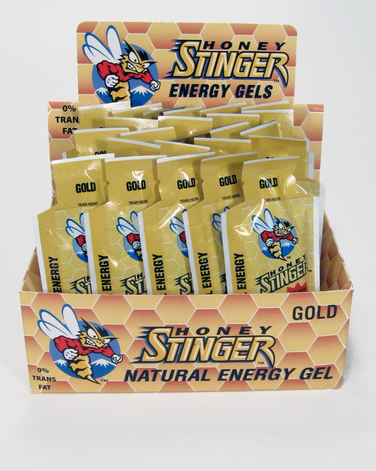 Honey Stinger Energy Gel Gold - 24ct