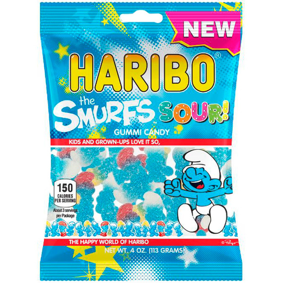 Sour Smurfs 4 oz