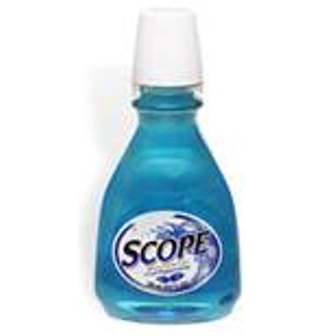 Scope Mint Mouthwash Travel Size Bottle