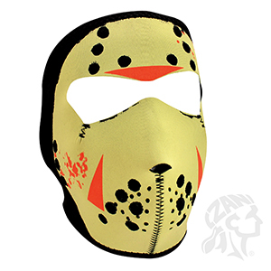 Glow in the Dark Jason Mask