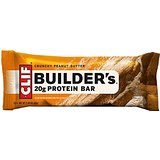 Clif Builders Crunchy Peanut Butter Bar - 12ct