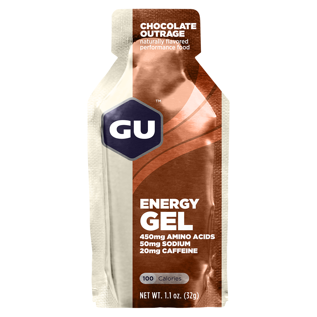 GU Energy Gel Chocolate - 24ct