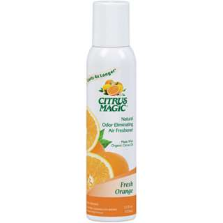 Citrus Magic Air Freshener Orange