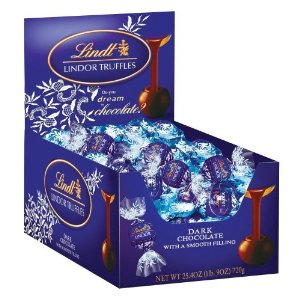 Lindor Lindt Dark Chocolate Truffles - 60ct