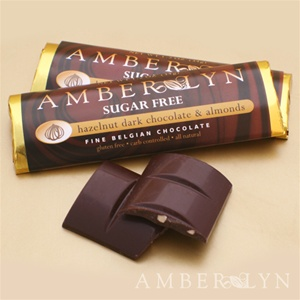 Amber Lyn Hazelnut Almond Chocolate - 15ct