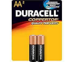 Duracell  Batteries AA 2pk