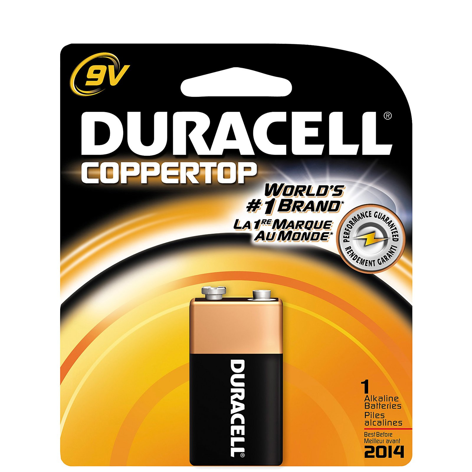 Duracell 9volt - 12 count box