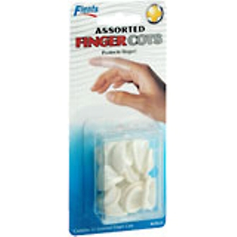 Finger Cots Asst - 6ct