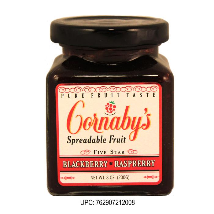 Blackberry Raspberry Spreadable Fruit - 6ct