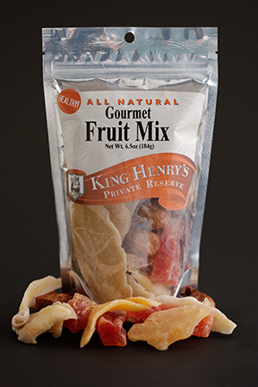 King Henry's Natural Fruit Mix