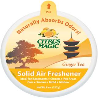 Citrus Magic Solid Ginger Tea