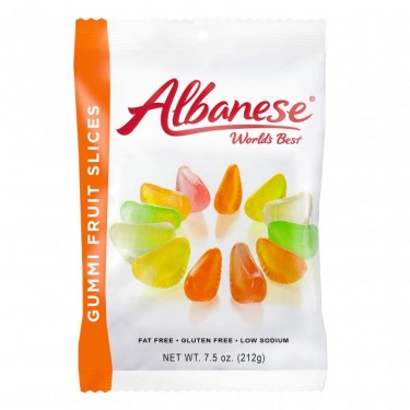 Albanese Fruit Slices - 6ct