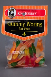 King Henry's Gummy Worms